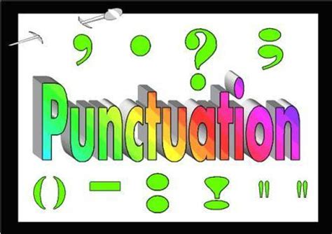 Proper essay title punctuation